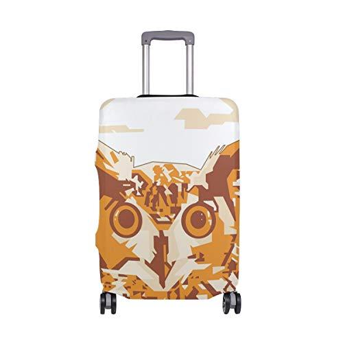 Funda para maleta con diseño de búho