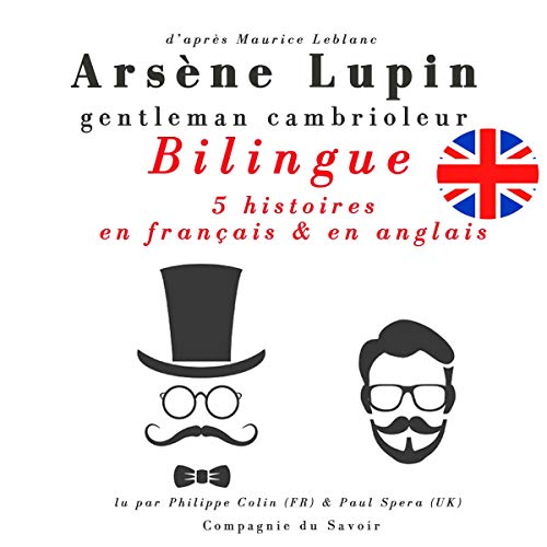 Arsène Lupin, gentleman cambrioleur audiobook cover art