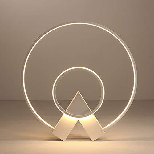 Lámpara de techo/Focos de techo LED blanca lámpara de salón de 38W regulable con control remoto Mesa de centro lámparas de diseño Araña de acrílico para dormitorio salón cocina lámpara de oficina 50cm
