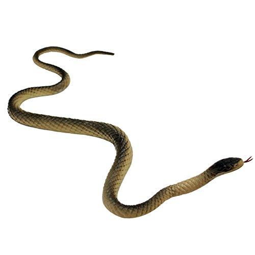 Pinzhi Serpent 40 cm Prop Serpents en caoutchouc Serpent en caoutchouc Serpents Reptiles kriechtier