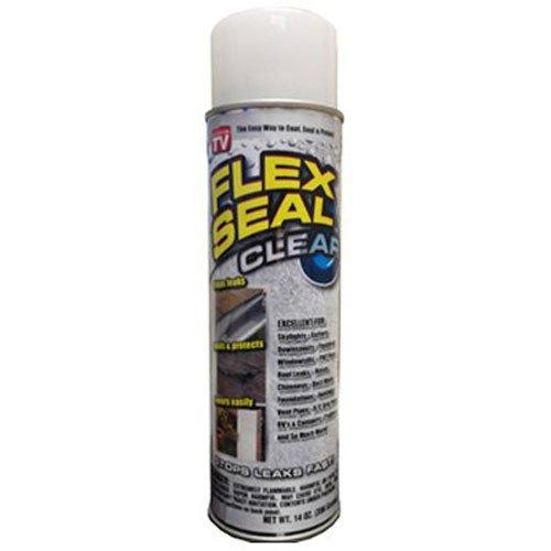 Flex Seal Spray Rubber Sealant Coating, 14-oz, Clear