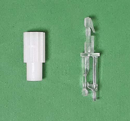 Asia Buy Blind Parts Vertical Blind Carrier Clip/Hook/Stem w/Gear- No Carrier (5 Sets)