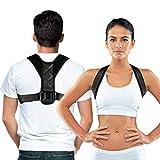 back support posture corrector, shoulder brace for posture correction Adjustable and Comfortable Clavicle Brace elieves Upper Back&Shoulders Pain Correcting Hunchback Posture(Universal)