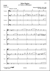 PARTITION CLASSIQUE - Salve Regina - F. GUERRERO - Quatuor de Trombones