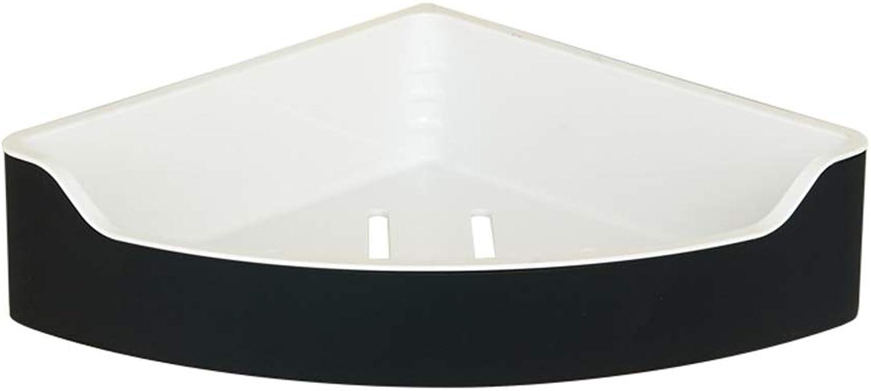 Black Shelf Triangle Rack Corner Copper Basket 304 Stainless Steel Angle Frame
