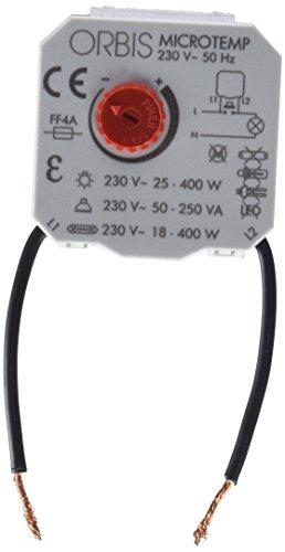 Orbis Micro Temp 230 V Interruptor con Temporizador, OB200004