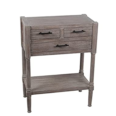 Privilege 28408 3 Draw Accent Winter Melody Table