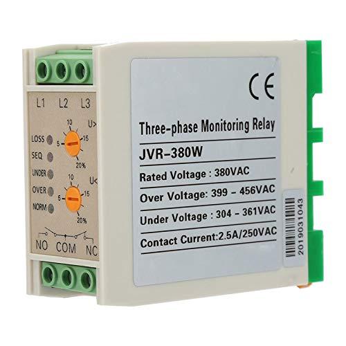 Ivaank Protección de Circuito, JVR-380W Circuito sobre Voltaje de supervisión de relé Protector de Secuencia de Fase de Falla de Fase