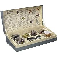 Toque Caja 6 botánicos para Gin&Tonic: estuche premium con ingredientes, instrucciones y herramienta profesional - 91,5 g