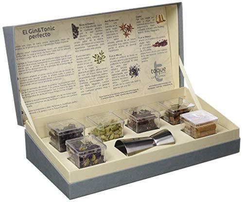 Toque Caja 6 botánicos para GinTonic: estuche Premium con ingredientes, instrucciones y herramienta profesional - 91,5 g (60000000027)
