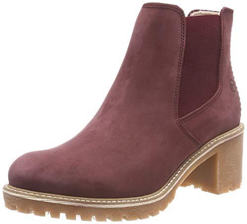 Tamaris Damen 25447-21 Chelsea Boots, Rot (Bordeaux 549), 40 EU