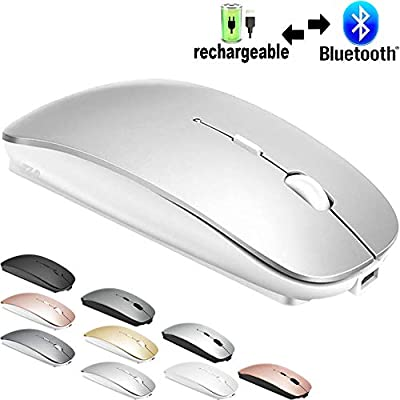 Bluetooth Mouse for MacBook pro/MacBook air/Laptop/iMac/ipad, Wireless Mouse for MacBook pro MacBook Air/iMac/Laptop/Notebook/pc