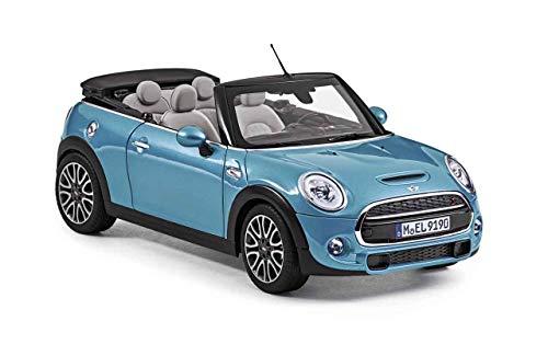 Mini Original Cabrio (F57) Miniatur Electric Blue 1:18 Modellauto Kollektion 2018/2020