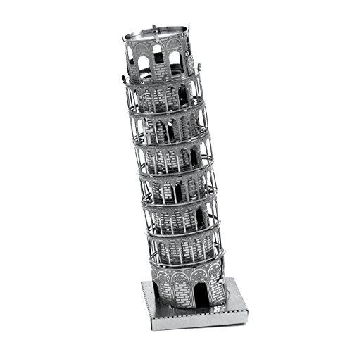 Fascinations Metal Earth Leaning Tower of Pisa Building 3D Metal Model Kit