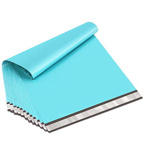UCGOU 19x24 Inches Teal Poly Mailers Premium Shipping Envelopes Mailers Bags with Self Adhesive Strip Waterproof and Tear-Proof Postal Bags 50Pcs