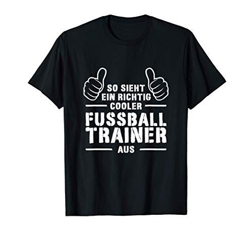 Cooler Fußballtrainer Coach Bester Fußball Trainer Geschenk T-Shirt