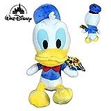 Disney Famosa Softies - 25cm Peluche Mickey Minnie Donald Pluto - Calidad Super Soft (Donald)