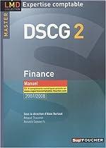 FINANCE MASTER 2 DSCG MANUEL (Ancienne édition) d'Arnaud Thauvron