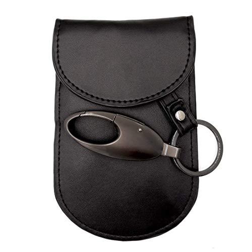 Faraday Bag Key Fob, Colisivan Faraday Pouch Key Signal Blocker Fob Protector, RFID Key Guard Anti-Theft Pouch for WiFi/GSM/LTE/NFC/RF Blocked