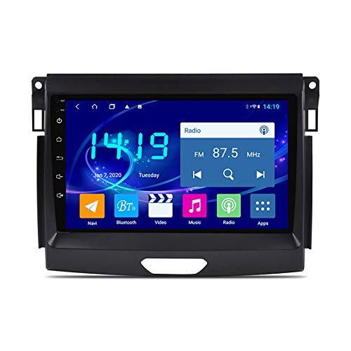 DSAK Reproductor Multimedia del Automóvil Autoradio Es Adecuado para Ford Ranger 2016-2018 Android Smart Car DVD Multimedia Navigator 4G + 64G