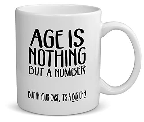 Happy Birthday Mug For Men Women - Funny Birthday Gift Ideas For Mom Dad Coworker Aunt Uncle - 40th 50th 60th 70th 80th 90th Birthday Gifts For Women Men Husband Wife Novelty Gag Coffee Mug Cup 11oz