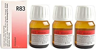 Dr.Reckeweg Germany R83 Food Allergy Drops Pack Of 3 by Dr. Reckeweg