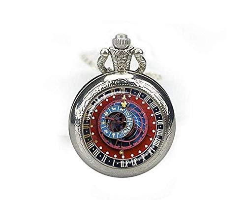 Astrology Taschenuhr Schmuck Astronomie Taschenuhr Astronomie Steampunk Uhr Taschenuhr