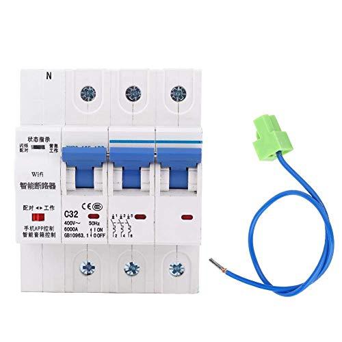 ZGQA-GQA Disyuntor inteligente WIFI, 3P inteligente de control remoto del interruptor automático de control remoto de sincronización de cierre switchIP20 100A (100A)