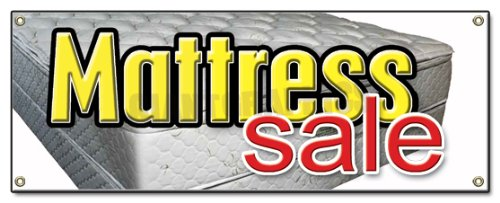 Mattress Sale Banner Sign Store Signs