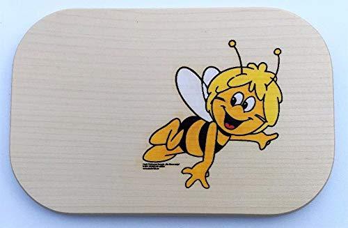 Brink Holzspielzeug Frühstücksbrett Maja Holz Namen Frühstücksbrettchen mit kostenloser Gravur Vesper Brett