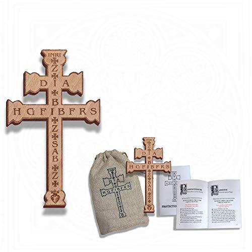 Plague Cross 7' Wall Cross Protection Bundle
