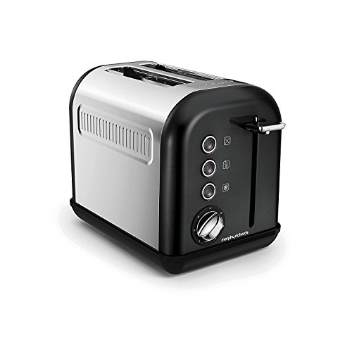 Morphy Richards, Accents, Tostapane 2fessure 0 Black