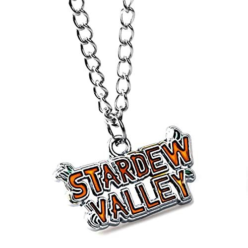 Lu Star Valley StoryStardew ValleyCollar De Aleación Accesorios De Moda Dibujos Animados Regalo De Joyería Personalizado Para Mi Amigo