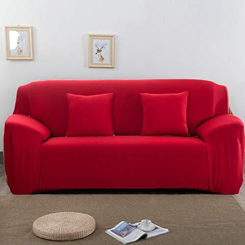 Funda de sofá elástica para Sala de Estar, Toalla de sofá, Funda de sofá Antideslizante y a Prueba de Polvo, Funda de sofá elástica A15, 1 Plaza