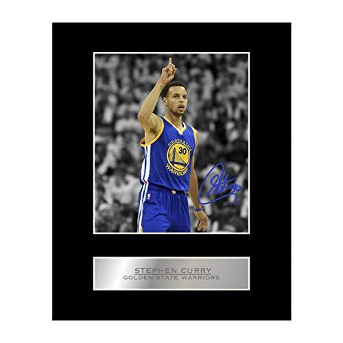 Foto firmada Stephen Curry firmada por Golden State Warriors #2