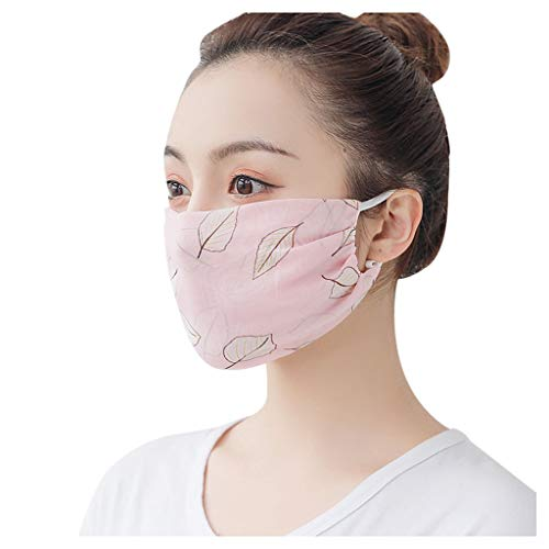 Reasoncool Frauen Atmungsaktiver Bandana Wiederverwendbarer Außen Luftfilter Hängendes Ohr Sonnenschutz Sicherheit Sturmhaube