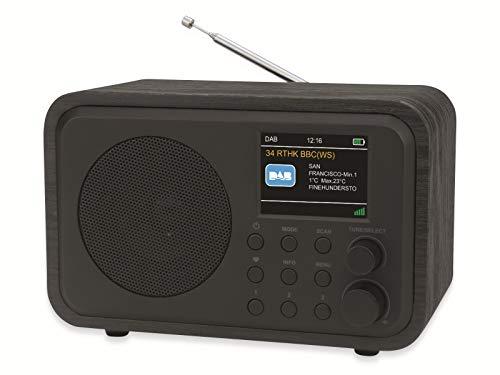 Universum DAB Digitalradio, UKW Radio, mit Bluetooth, Kopfhörerausgang und Akku DR 300-20
