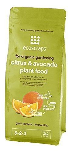 EcoScraps For Organic Gardening Citrus & Avocado Plant Food,...