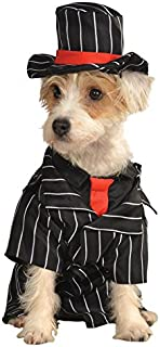 Rubie's Gangster Pet Costume, Small, Multicolor