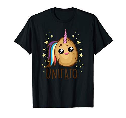 Funny Potato Unicorn Shirt Funny UNITATO Gift