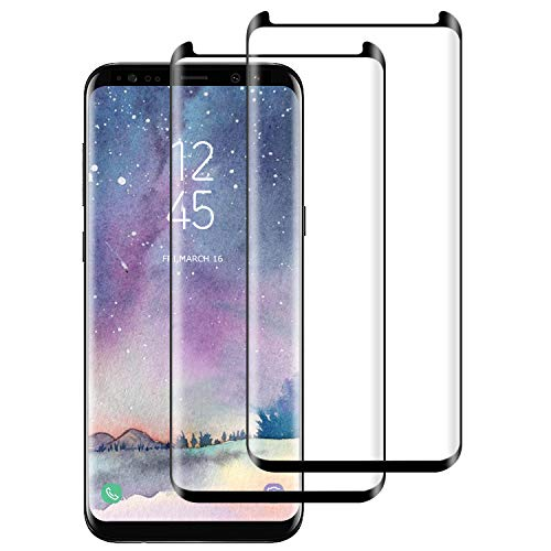 DASFOND Cristal Templado Samsung Galaxy S9 Plus Protector de Pantalla Samsung Galaxy S9 Plus Vidrio...