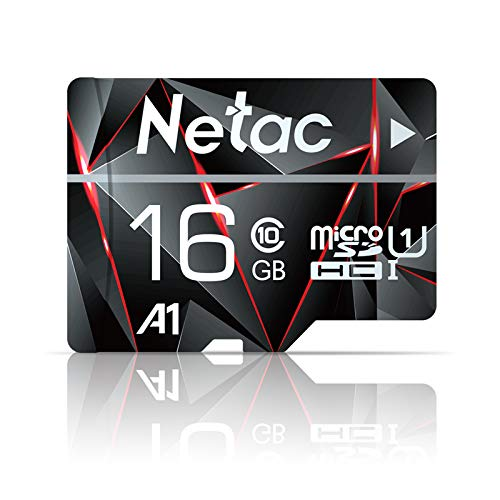 Micro SD Card, Netac Memory Card MicroSD High Speed Transfer A1 C10 U1 MicroSDHC TF Card for Cemera/Phone/Nintendo Switch/Galaxy/Drone/Dash Cam/GOPRO/Tablet/PC/Computer with Adapter
