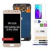 Reemplazo De Pantalla TFT LCD Para Samsung Galaxy J2 PRO 2018 J250 J250F/DS J250G J250N J250M/DS Pantalla LCD De Pantalla Táctil De 5.0 'Digitalizador Nuevo Ensamblaje No Original AMOLED (Dorado)