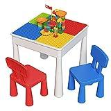 ZhanXiang Set di sedie da Tavolo per Bambini (2021new-A)...