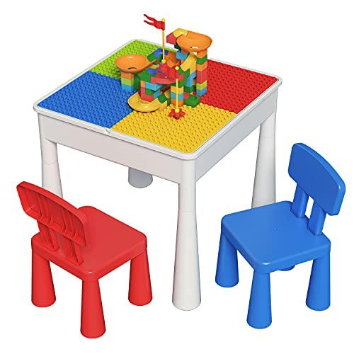 ZhanXiang Juegos de Mesa y sillas niños (2021new-A)