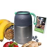 Limes 8 ® Thermobehälter, hochwertige Edelstahl Lunchbox, auslaufsicherer Speisebehälter...