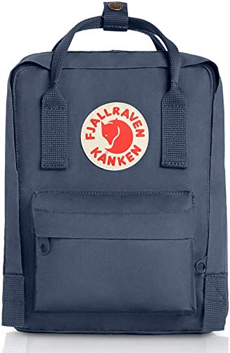 BLO Fjallraven Kids Kanken Mini Backpack,Graphite,29 x 20 x 13, 7 Liter
