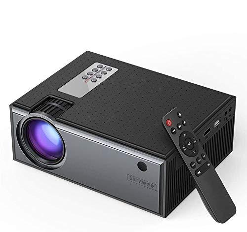 Projector 2800 Lumens Blitzwolf® BW-VP1 LCD Home Theater com Controle Remoto