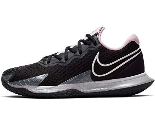 Nike Air Zoom Vapor Cage 4, Tennis Shoe Womens, Negro/Espuma Rosa/Gris Humo Oscuro/Blanco, 42 EU