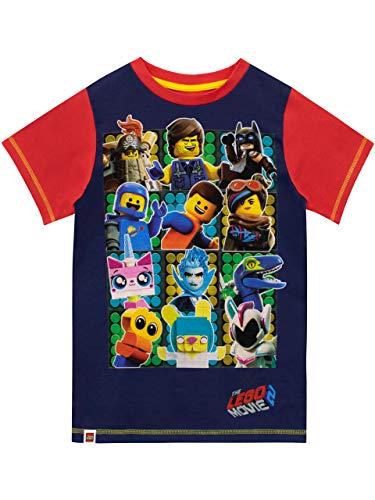 LEGO Movie Jungen T-Shirt Blau 128